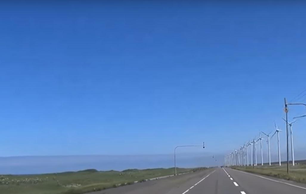 絶景のドライブコース オロロンライン