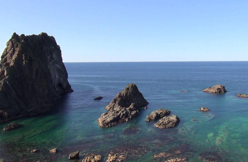 積丹半島 感動 積丹ブルーの絶景